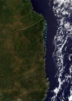 The Mozambique Coast - various sizes