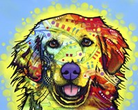 Golden Retriever by Dean Russo - various sizes, FulcrumGallery.com brand