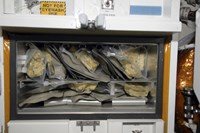 Bags of Food Stored Inside the Galley on Space Shuttle Endeavour - various sizes, FulcrumGallery.com brand