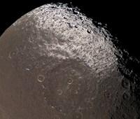 Saturn's Moon Lapetus - various sizes