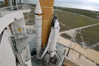 Space Shuttle Atlantis on the Launch Pad - various sizes