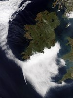 Contrails Converging on Dublin, Ireland - various sizes - $30.49