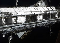The International Space Station's Starboard Truss - various sizes