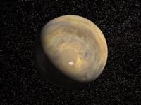 Global view of Mars Fine Art Print