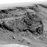 A Cliff on the Surface of Mars - various sizes