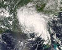 Tropical Storm Fay Ver the Southeastern United States - various sizes
