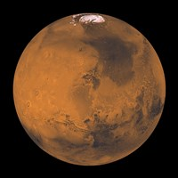 Global Color View of Mars - various sizes