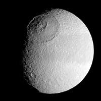 Saturn's Moon Tethys - various sizes, FulcrumGallery.com brand