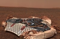 The Rover's Landing Site, the Columbia Memorial Station, at Gusev Crater, Mars - various sizes, FulcrumGallery.com brand