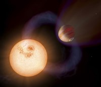 An Artist's Impression of a Unique Type of Exoplanet - various sizes - $47.49