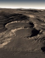 Three Craters in the Eastern Hellas Region of Mars - various sizes - $47.49