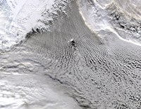 Cloud vortices Off Jan Mayen Island, Greenland Sea - various sizes, FulcrumGallery.com brand