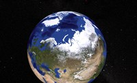 View of Earth Showing the Arctic Region - various sizes - $47.49
