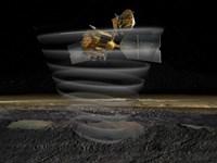Mars Reconnaissance Orbiter's Radar at Work Fine Art Print