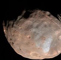 Mars Moon Phobos Fine Art Print