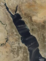 Dust Plumes Over the Red Sea - various sizes - $47.49
