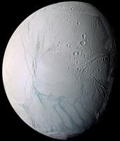 Saturn's Moon Enceladus - various sizes, FulcrumGallery.com brand