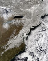 Snow Across the Northeastern United States - various sizes