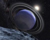Artist's Illustration of an Extrasolar Planet Orbiting Star HR 8799 - various sizes, FulcrumGallery.com brand
