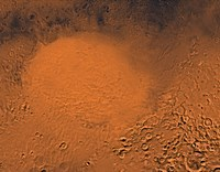 Hellas Planitia Region of Mars Fine Art Print