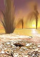 The Martian South Polar Ice Cap as Southern Spring Begins - various sizes