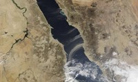 Dust plumes blow off the coast of Saudi Arabia and over the Red Sea - various sizes - $47.99