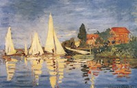 Regatta at Argenteuil Fine Art Print