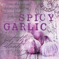 Farmer's Market Garlic Framed Print