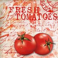 Farmer's Market Tomato Framed Print