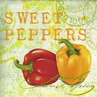 Farmer's Market Sweet Pepper Fine Art Print