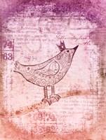 Little Bird Red Fine Art Print