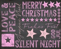 Chalkboard Christmas 2 by Andrea Haase - various sizes