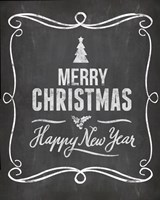 Chalkboard Christmas 5 by Andrea Haase - various sizes