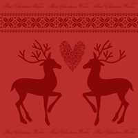 Christmas Red by Andrea Haase - various sizes, FulcrumGallery.com brand
