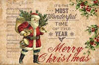 Merry Christmas Fine Art Print