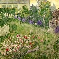 Daubigny's garden, 1890 by Vincent Van Gogh, 1890 - various sizes