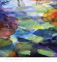 Ornamental Pond 2 Fine Art Print