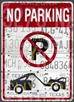 No Parking Fine Art Print