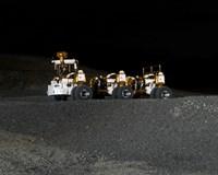 NASA's New Lunar Truck Prototype - various sizes