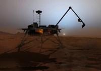 Phoenix Mars Lander Fine Art Print