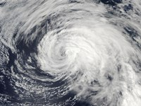 Tropical Storm Ele in the Central Pacific - various sizes