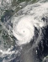 Typhoon Neoguri approaching China - various sizes