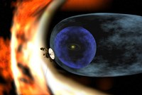 Voyager 2 Spacecraft Studies the Outer Limits of the Heliosphere - various sizes