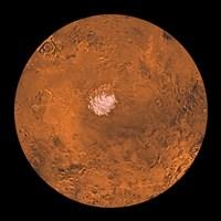 Mare Australe Region of Mars Fine Art Print