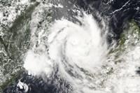 Tropical Cyclone Jokwe - various sizes