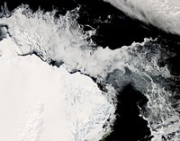 Sea Ice in the Southern Ocean - various sizes
