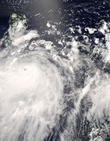 Typhoon Fengshen over the Philippines - various sizes