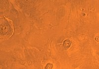 Tharsis Region of Mars Fine Art Print