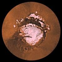 Mare Boreum Region of Mars Fine Art Print