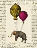 Elephant Ride II Fine Art Print
